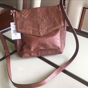 NEW Lucky Brand Large Rela Crossbody Bag